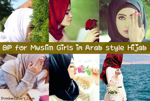 Dp for Muslim Girls in Arab Style Hijab