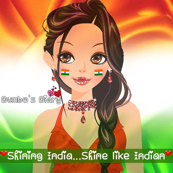 Facebook dp for girls on republic day