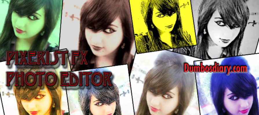 photo effects with Pixerist FX photo editor app